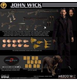 Mezco John Wick Chapter 2 One:12 Collective Mezco Exclusive Deluxe Action Figure