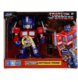Jada Toys Transformers G1 Optimus Prime Deluxe 4-Inch MetalFigs Figure with Light