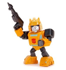 Jada Toys Transformers G1 Bumblebee Deluxe 4-Inch MetalFigs Figure with Light