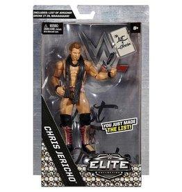 Mattel WWE Elite Chris Jericho List of Jericho Figure