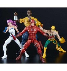 Hasbro Marvel Legends The Defenders Exclusive Action Figure 4-Pack [Iron Fist, Daredevil, Luke Cage & Jessica Jones]