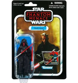 Hasbro Star Wars Phantom Menace 2012 Vintage Collection Darth Maul Action Figure #86 [Final Battle]