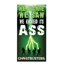 Factory Entertainment Ghostbusters - We Kicked Its Ass Beach / Bath Towel