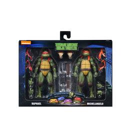 NECA TMNT Movie 2-pack Raphael & Michelangelo