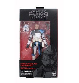Hasbro Star Wars Clone Captain Rex Black Series 6 inch Action Figure