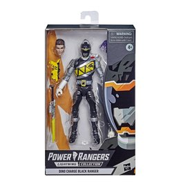 Hasbro Power Rangers Lightning Collection Dino Charge Black Ranger Action Figure