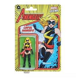 "Hasbro Marvel Legends - Carol Danvers - Vintage 3.75"" Action Figure"