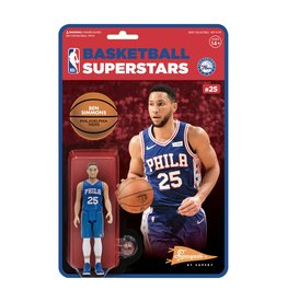 Super7 NBA Supersports Figure - Ben Simmons (76ers)