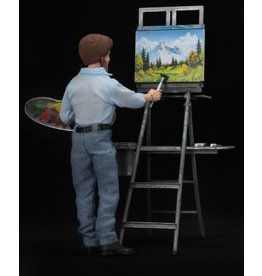 NECA The Joy of Painting Bob Ross Figure