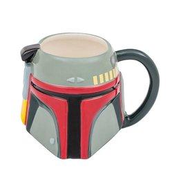 Bioworld Star Wars Boba Fett 20 oz. Ceramic Sculpted Mug