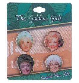 Bioworld The Golden Girls Lapel Pin Set
