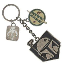 Bioworld Star Wars Boba Fett Multi-Charm Keychain