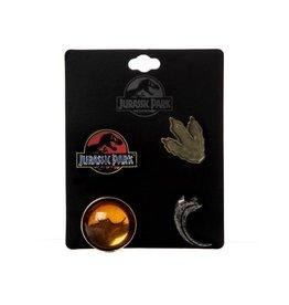 Bioworld Jurassic Park Lapel Pins 4-Pack