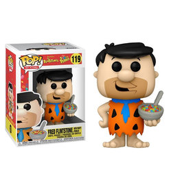 Funko Pop! Ad Icons: Fruity Pebbles - Fred Flintstone w/ Cereal