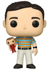 Funko Pop! Movies: The 40 Year Old Virgin - Andy holding Steve Majors (Chase)