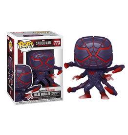 Funko Pop! Games: Marvel's Spider-Man Miles Morales (Programmable Matter Suit)