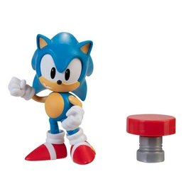 Jakks Sonic the Hedgehog 4-Inch Action Figures with Accessory Wave 4- Sonic the Hedgehog