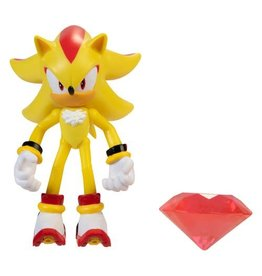 Jakks Sonic the Hedgehog 4-Inch Action Figures with Accessory Wave 4 - Super Shadow