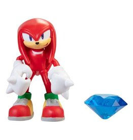 Jakks Sonic the Hedgehog 4-Inch Action Figures with Accessory Wave 4 - Knuckles
