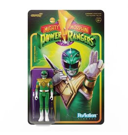 Super7 Mighty Morphin Power Rangers Reaction Figure Wave 1 - Green Ranger