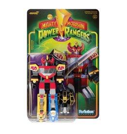 Super7 Mighty Morphin Power Rangers Reaction Figure Wave 1 - Megazord