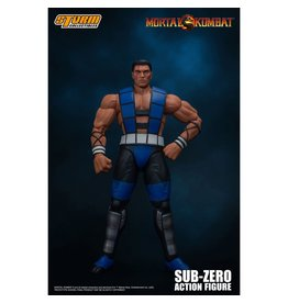 Storm Collectibles Mortal Kombat 3 Sub-Zero Unmasked 1:12 Scale Action Figure