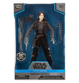 Disney TDS Disney Elite Series Star Wars Poseable Sergeant Jyn Erso Premium Action Figure - 10 Inches - Rogue One