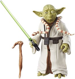 "Hasbro Star Wars The Empire Strikes Back Hero Series 12"" Action Figure Yoda"