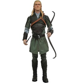 Diamond Select Toys The Lord of the Rings Select Wave 1 - Legolas Deluxe Action Figure with Sauron Parts