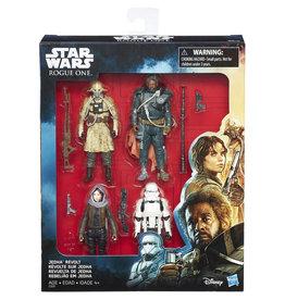 Hasbro Star Wars: Rogue One Jedha Revolt 4pk