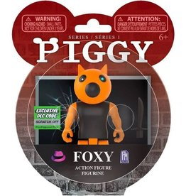 "PhatMojo Piggy Series 1 Foxy  3.5"" Action Figure (Includes DLC items)"