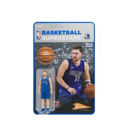 Super7 NBA Basketball Superstars ReAction Luka Doncic (Dallas Mavericks) Figure