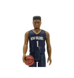 Super7 NBA Basketball Superstars ReAction Zion Williamson (New Orleans Pelicans) Figure