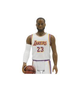 Super7 NBA Basketball Superstars ReAction LeBron James (Los Angeles Lakers) Alternate Figure