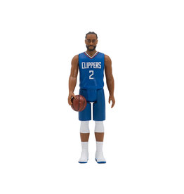 Super7 NBA Basketball Superstars ReAction Kawhi Leonard (Los Angeles Clippers) Figure