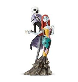 Disney Disney Showcase Nightmare Before Christmas Jack Skellington and Sally Deluxe Statue