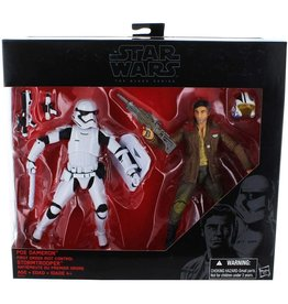 Hasbro Star Wars The Black Series Poe Dameron & Riot Control Stormtrooper 2-pack