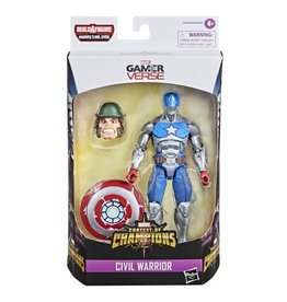 "Hasbro Marvel Legends Series 6"" Civil Warrior With Shield (Shang-Chi Wave) (Mr. Hyde BAF)"