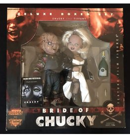 McFarlane Toys Movie Maniacs Bride of Chucky Deluxe Boxed Set - Chucky and Tiffany