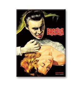 Aquarius Hammer Horror Dracula Girl Flat Magnet