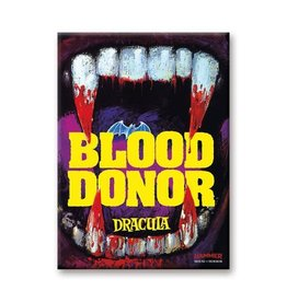 Aquarius Hammer House of Horror Blood Donor Flat Magnet