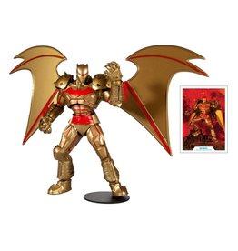 DC Comics Batman and Robin DC Multiverse Batman (Hellbat Suit Gold Ver.) Action Figure