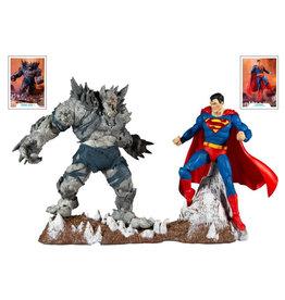 McFarlane Toys Dark Nights: Metal DC Multiverse Batman Earth -1 (The Devastator) & Superman Two-Pack