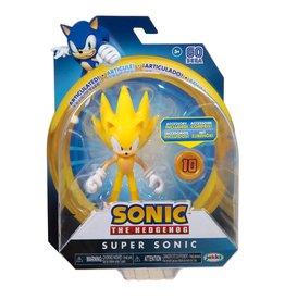 Jakks Super Sonic The Hedgehog with Super Ring
