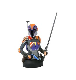 Diamond Select Toys Star Wars Rebels Sabine Wren 1/6 Scale Limited Edition Bust