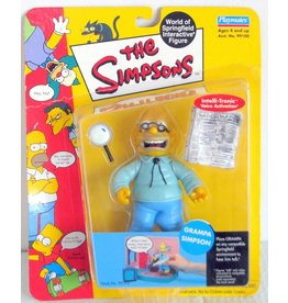 Playmates The Simpsons World of Springfield Series 1 Grampa Simpson Figure