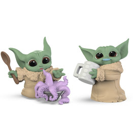 Hasbro The Mandalorian The Bounty Collection Tentacle Soup Surprise and Blue Milk Mustache 2-Pack