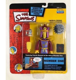 Playmates The Simpsons World of Springfield Series 12 Number One Figure