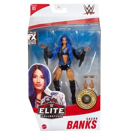 Mattel WWE Elite Collection Series 83 Sasha Banks Action Figure