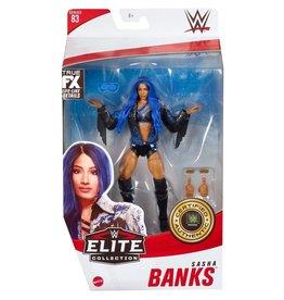 Mattle WWE Elite Collection Series 83 Sasha Banks Action Figure